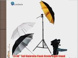 LimoStudio Photo Studio Portable Hot Shoe Flash Umbrella Stand Kit for Canon 430EX II 580EX