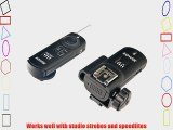 Bower RCRC3  3-In-1 Advanced Wireless Remote and Trigger for Canon EOS 7D 5D Mark II 50D 40D