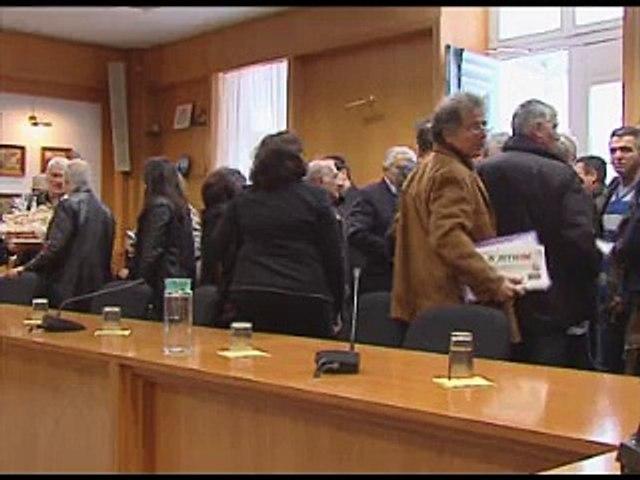 Άδραξαν την ευκαιρία οι Δήμαρχοι από την παρουσία Τσιρώνη στη Λιβαδειά