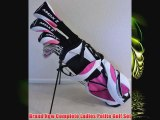 New Ladies Complete Golf Club Set for Petite Women 5055 Tall Driver Fairway Wood Hrbrids Irons Putter Stand Bag Premium