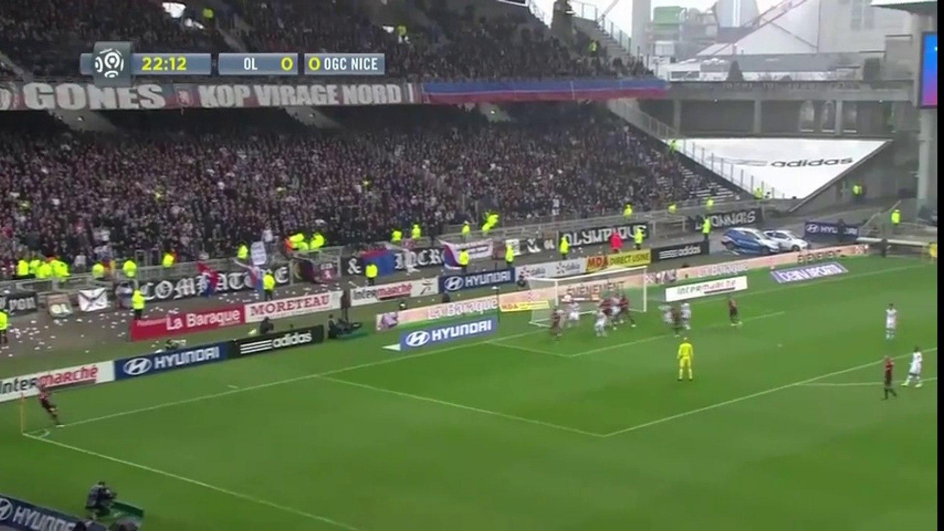 Lyon 1 - 2 Nice [Ligue 1] Highlights - Soccer Highlights Today - Latest Football Highlights Goals Vi