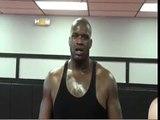 Shaquille oneal beat down MMA  UFC  fighter chuck liddell