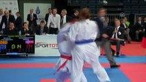 50. Avrupa Büyükler Karate Şampiyonası Devam Ediyor