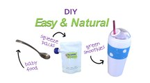 DIY Easy, Natural Baby Food, Squeeze Packs and Green Smoothies!