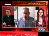 According to Uzair Baloch , Famous Karachi cricketer is involved in criminal activities -- Dr.Shahid Masood