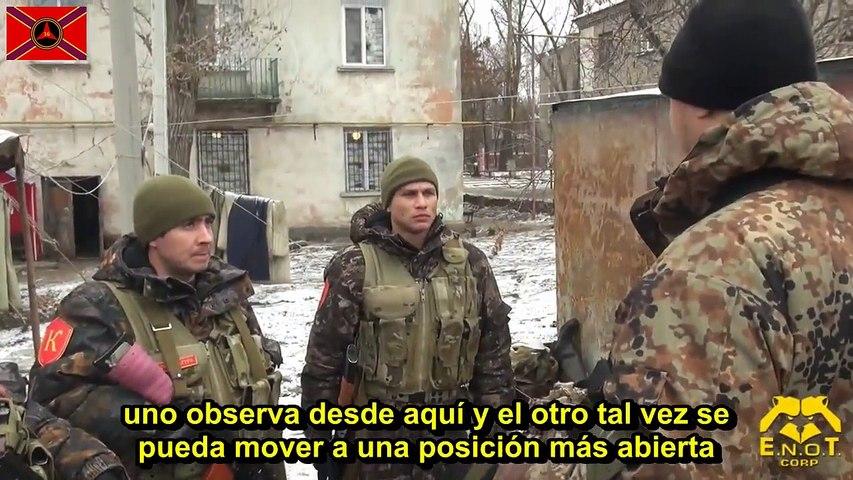 Entrenamiento de asalto Milicias de Novorossia (Sub.Castellano)