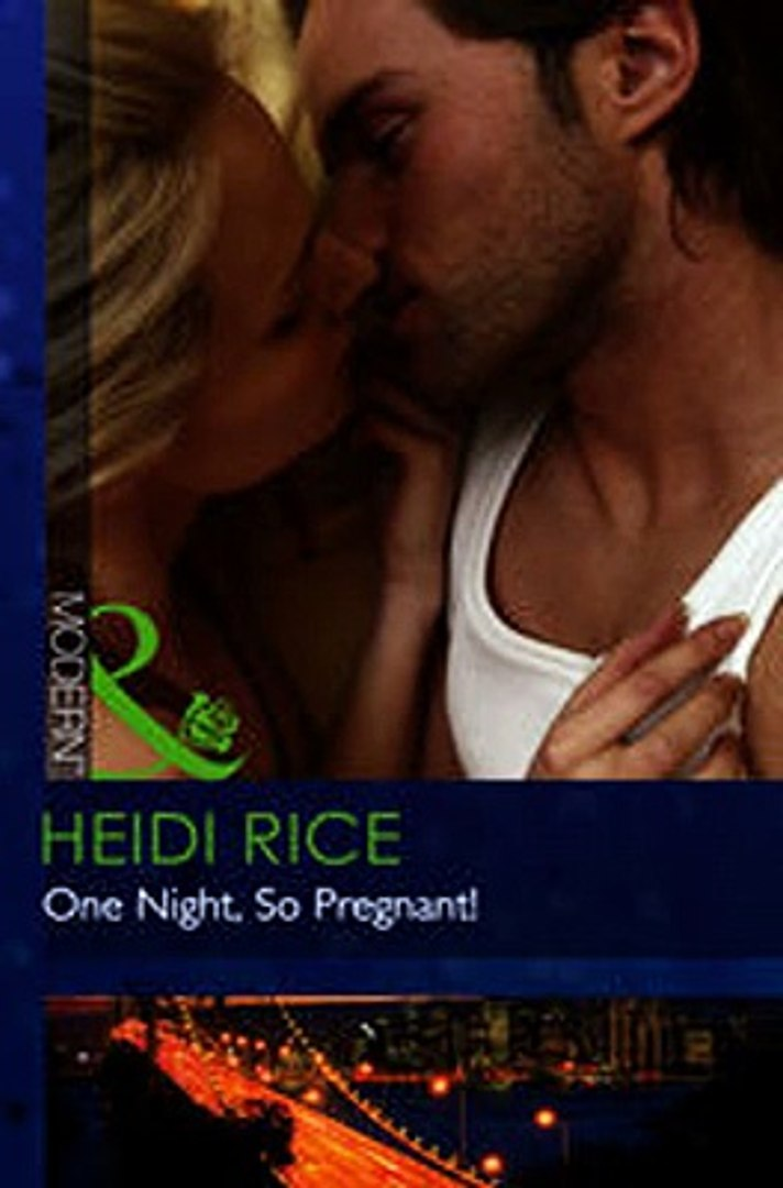 Download One Night So Pregnant! Mills Boon Modern ebook {PDF} {EPUB}