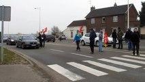 Manifestation des ouvriers de Sambre et Meuse Feignies (3/3)