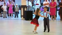 Samba dance by children - Ionela Tarus & Mihai Ungureanu