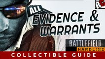 Battlefield: Hardline - All Collectibles Campaign Warrants and Evidence Locations - Collectible Walkthrough for all missions