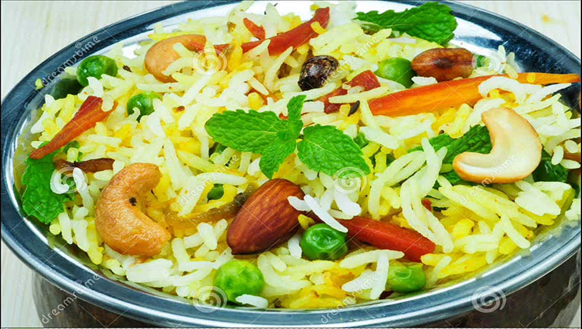 Vegetable Biryani South Indian Recipes Video Dailymotion