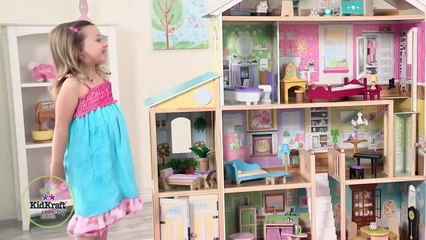Wooden Majestic Mansion Dollhouse