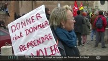 Aides : Manifestation de 200 agriculteurs Bio (Toulouse)