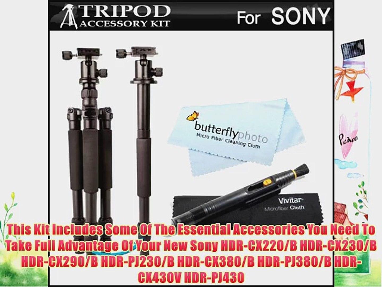 Quick Release Professional Black 72 Monopod//Unipod For Sony HDR-CX430V