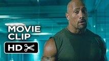 Furious 7 Movie CLIP - Hobbs and Shaw Fight (2015) - Dwayne Johnson, Jason Stath_HD