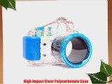 Polaroid Dive Rated Waterproof Underwater Housing Case For Sony Alpha NEX-3 Digital Camera