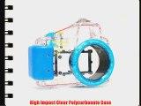 Polaroid Dive Rated Waterproof Underwater Housing Case For Sony Alpha NEX-5N Digital Camera