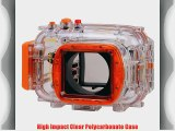 Polaroid Dive Rated Waterproof Underwater Housing Case For Nikon J1 Digital Camera WITH A 10mm