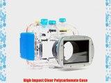 Polaroid Dive Rated Waterproof Underwater Housing Case For Nikon Coolpix P7100 Digital Camera