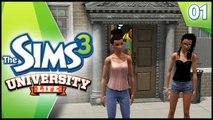 STARTING UNIVERSITY - Sims 3 University Life - EP 1