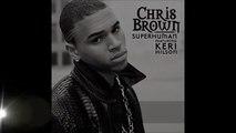 Chris Brown ft  Keri Hilson - Super Human (Lyrics) - Vidéo