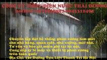 Nhận lắp đặt hệ thống phun sương tại quận Hoàng Mai Hà Nội