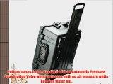 Pelican 1610 Case with Foam for Camera (Black)