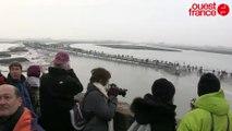 La marée du siècle au Mont Saint-Michel