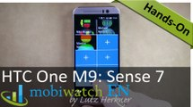 HTC One M9: More Details of Sense 7 and its New Features – Hands-on Video
