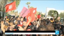 21/03/2015 FR NW PKG F24 200315 TUNISIE TUNIS MANIFESTATION DE COLERE DES TUNISIENS APRES L ATTENTAT AU MUSEE DU BARDO