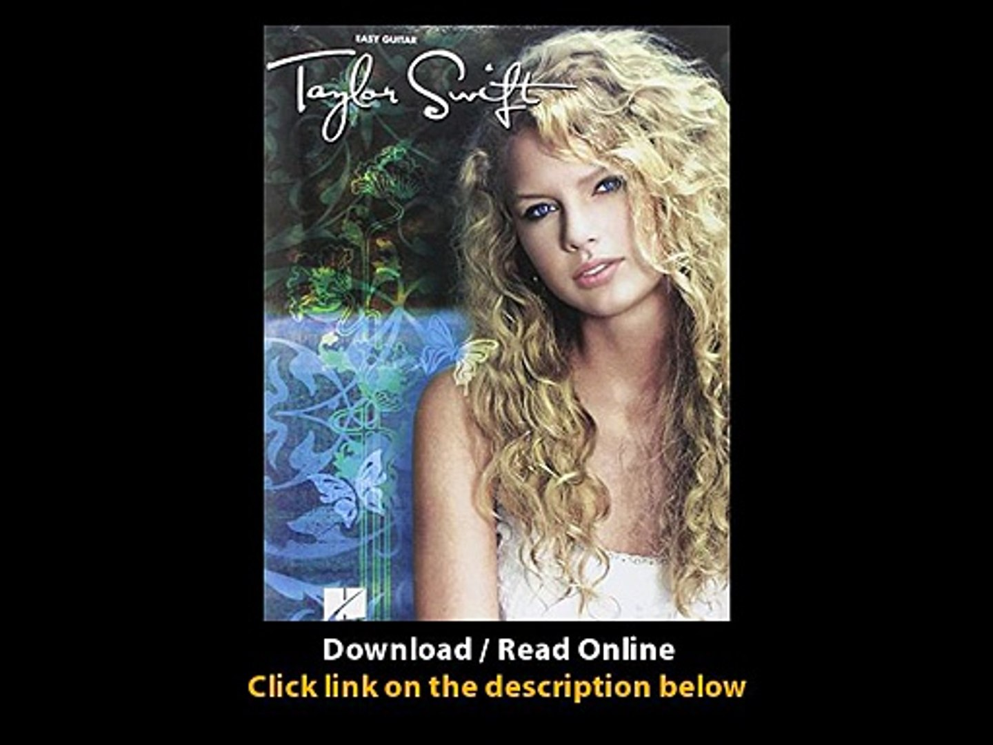 Download Taylor Swift for Easy Guitar Easy Guitar with Notes Tab By Taylor Swift PDF