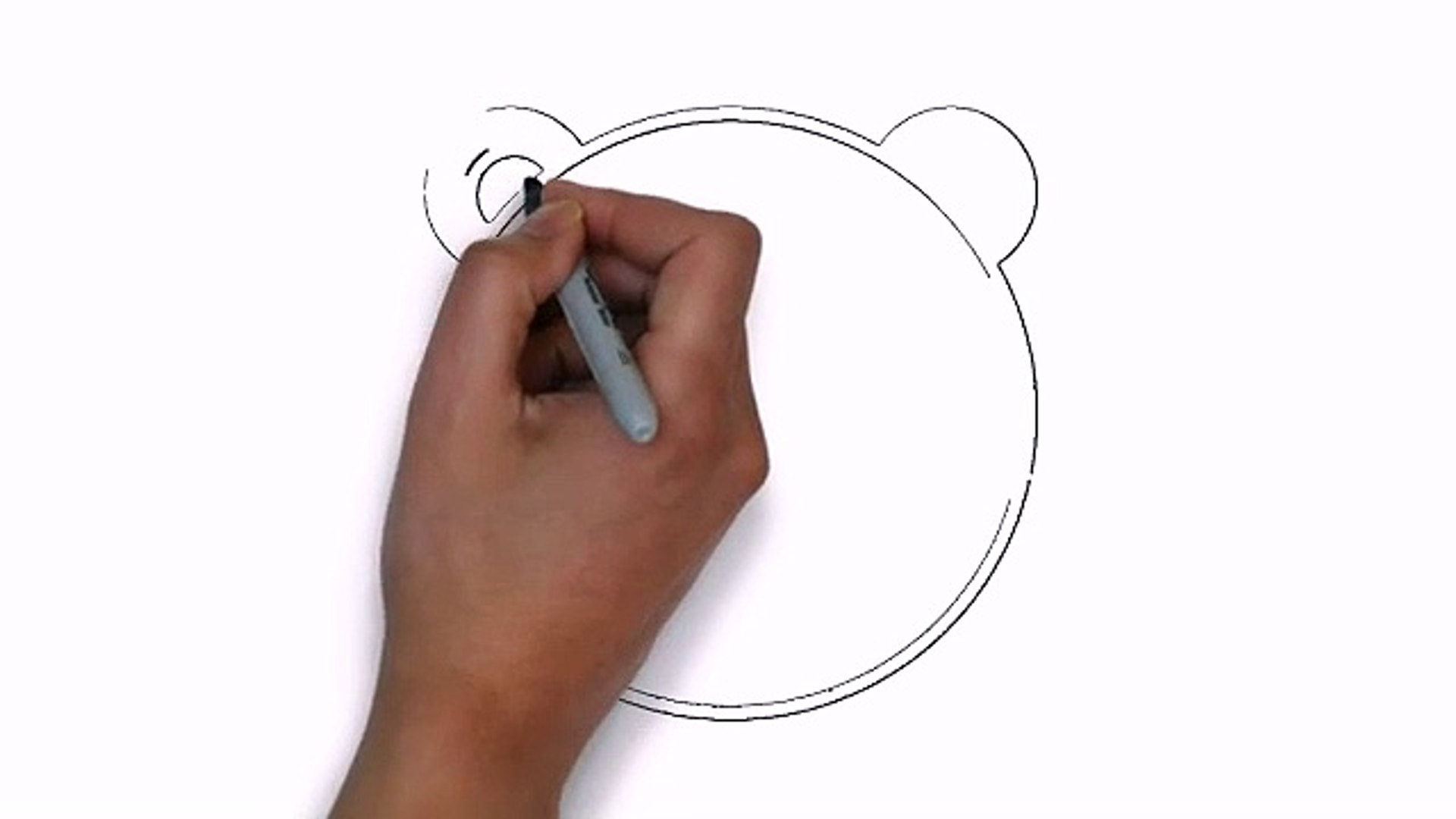How To Draw Panda Face (Get Paid To Draw)