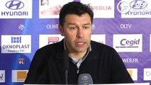 OL : Hubert Fournier pointe les limites de son équipe