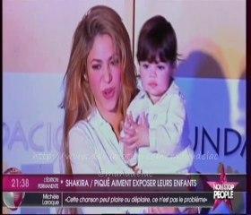 Shakira et Gerard Piqué aiment exposer leurs enfants sur la toile