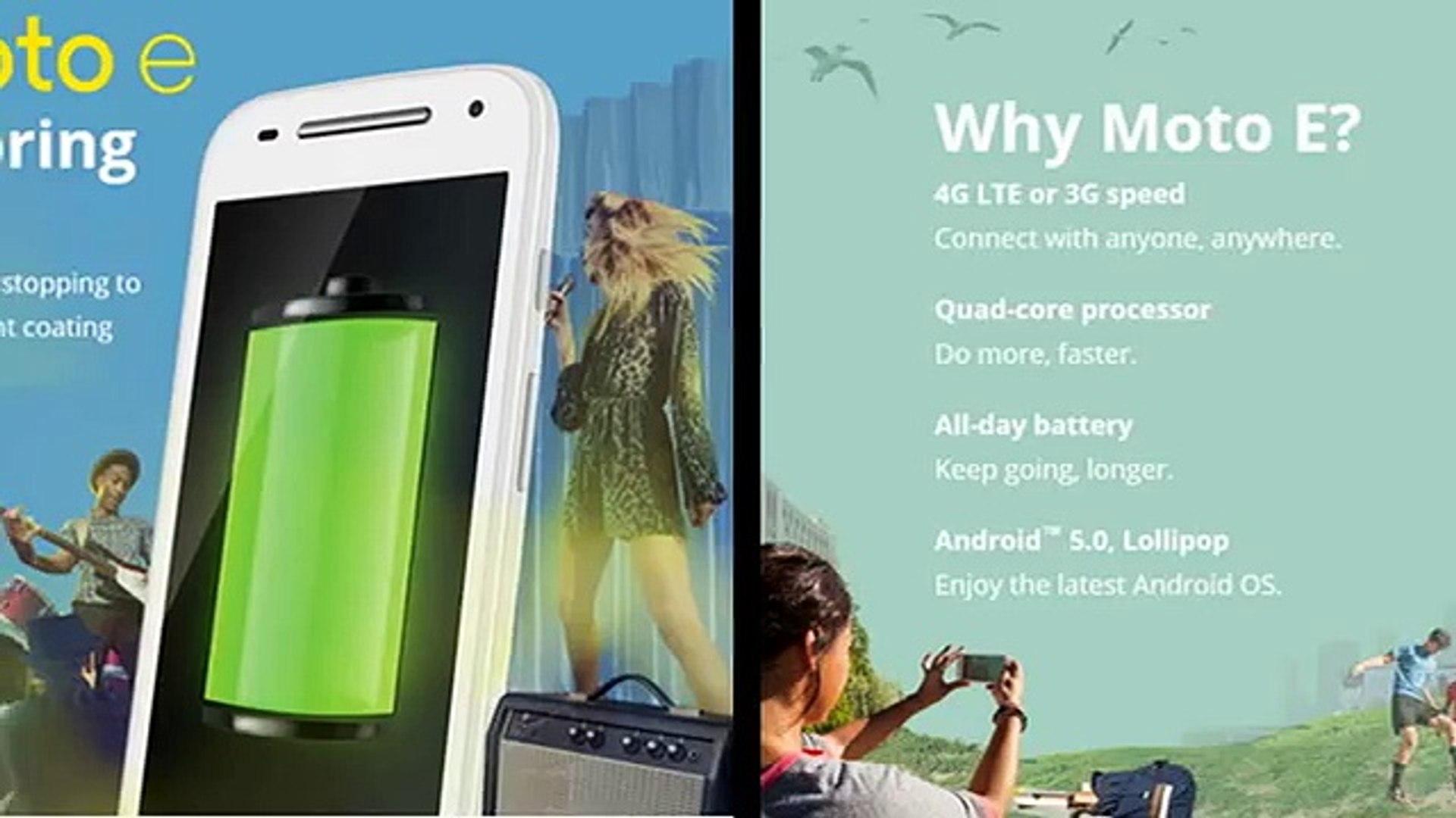 Buy Motorola Moto E 2nd Gen Mobile Phone Online in India
