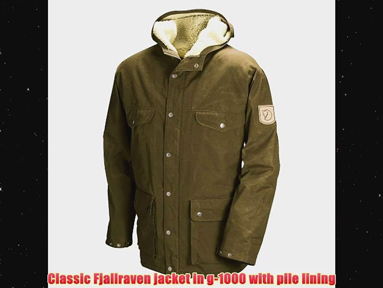 Fjallraven Greenland Parka G 1000 Jacket Sherpa Lined L