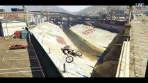 SICK GTA 5 BMX STUNT MONTAGE! (GTA V STUNTS)
