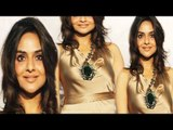 Sexy Madhoo In Golden Dress Sexy Pose On Camera