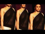 Hot Figure Babe Gul Panag In Transparent Saree Exposing Hot Maal