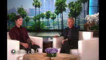 Justin Bieber & Ellen degeneres prank/scare The audience in the bathroom On the Ellen show