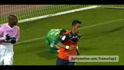 All Goals - Evian TG 1-0 Montpellier - 21-03-2015
