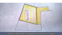 PADOVA, MASERA' DI PADOVA   TERRENO EDIFICABILE MQ 1600 EURO 1