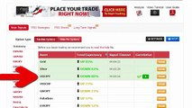 Auto Binary Signals (Main ABS) Video 3 Live Trading   March 4th 2015