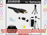 Starter Accessories Kit For The Samsung NX200 NX210 NX1000 Digital Camera Includes Deluxe Carrying