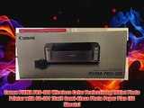Canon PIXMA PRO100 Wireless Color Professional Inkjet Photo Printer with SG201 13x19 SemiGloss Photo Paper Plus 50 Sheet