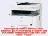 Canon imageCLASS D1320 Laser Multifunction Printer Monochrome Plain Paper Print Desktop IC D1320 MONO LASER PSCF USB ENE