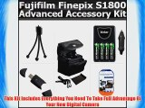Advanced Accessory Kit Includes USB 2.0 High Speed Card Reader  4AA High Capacity Rechargeable