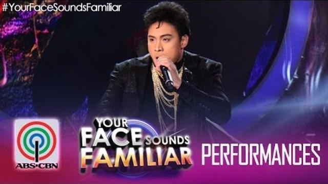 """Your Face Sounds Familiar: Edgar Allan Guzman as Gary Valenciano - """"Eto Na Naman"""""""