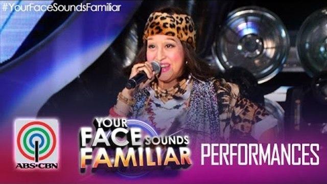 """Your Face Sounds Familiar: Jolina Magdangal as Sampaguita - """"Bonggahan"""""""