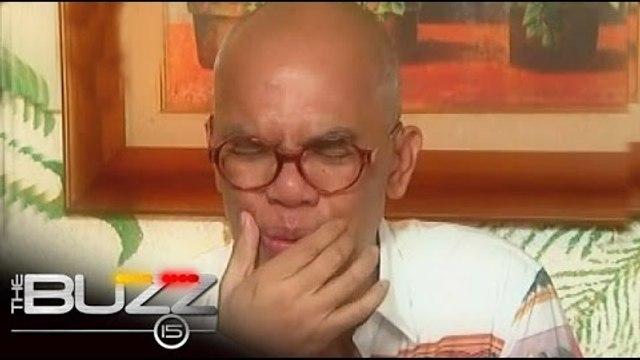 Boy Abunda cries on Buzz interview
